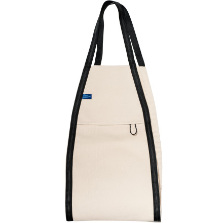 Entertainment Tired of awkwardly lugging your surfboard to the beach Make it easier on yourself with the BAGGU Sling Surfboard Tote. The open-ended canvas sling and tough nylon straps make it easy to carry any length board, as well as other awkwardly large items that don't fit under your arm such as beach chairs or cardboard boxes. - $47.95