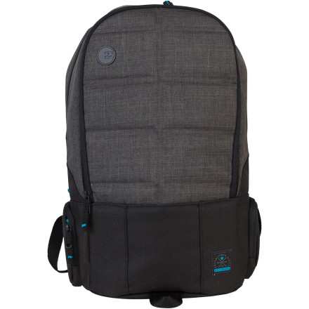 Surf It'd be a shame to put all that work into typing your term paper only to take a spill and destroy your computer while you're skating down to school to turn it in. Keep your computer protected from extracurricular mayhem with the Billabong Reactor Laptop Backpack. A padded laptop sleeve keeps your laptop safe, while a spacious main compartment holds the rest of your books and papers. - $59.45