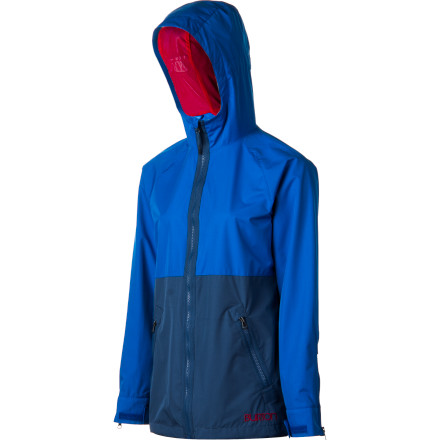Snowboard The Burton Women's Metal Jacket protects you from light rain and snow while it protects your wallet from completely drying out. - $89.95