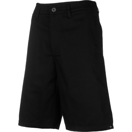 Surf The Quiksilver Union Short gives you all the classic style of blue-collar workwear, with none of that pesky 'hard labor' business. - $33.75