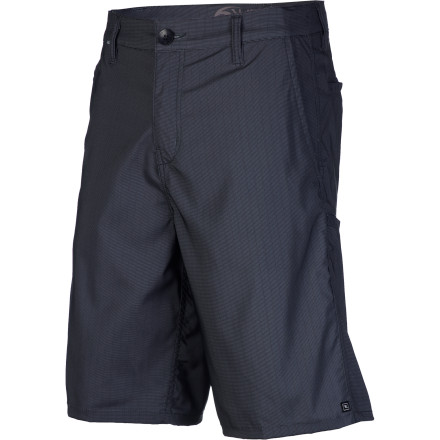 Surf When you know that you're going to be in the water at some point every single day, why waste time changing in and out of your boardshorts all the time The Rip Curl Ratso Stripe Men's Boardwalk Short features chino-styling in a quick-drying poly fabric that doesn't mind getting wet when the occasion call for it. - $29.67