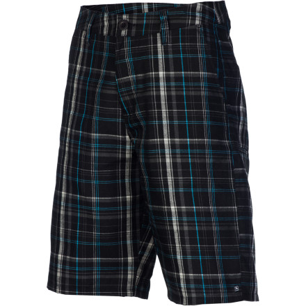 Surf Cyclists can keep their spandexyou're feeling just fine in your Rip Curl Tour De Force Men's Walk Short. The soft viscose and polyester fabric and a regular fit will keep you comfy as you watch the big race from the comfort of your couch. - $29.67