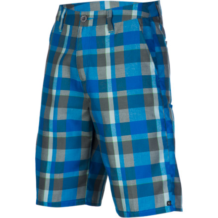 Surf The road of life is long and filled with surprises, so you might as well keep yourself comfortable in the Rip Curl On The Road Men's Walk Short. It's made with a soft viscose and polyester blend fabric so you can sit back and enjoy the ride in comfort. - $29.67