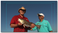 Fishing Fishing with co-host Denny Derr in Sea Drift Tx. Denny was one of the spotlighted Warriors on this episode.