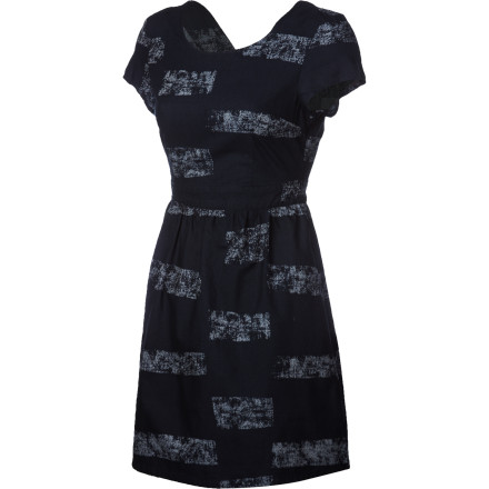Entertainment When you're at a loss as to what to wear to your friend's dinner party, look to the Vans Women's Lovey Dress. Pair it with some leggings and chic high-top boots for a trendy, upscale look. - $47.56