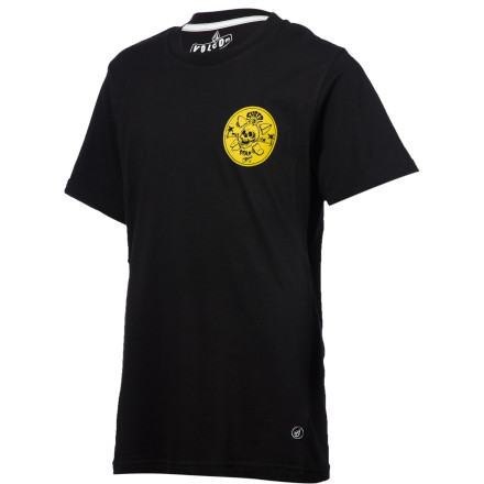 Surf Volcom Jamie Browne FA T-Shirt - Short-Sleeve - Boys' - $21.95
