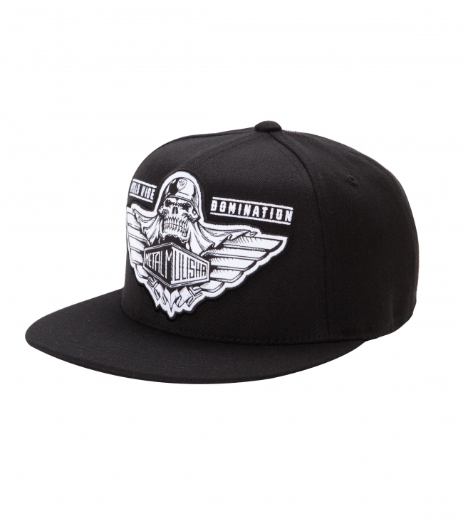 Motorsports Metal Mulisha Mens Hat.  83% Acrylic / 15% Wool / 2% PU Spandex Flexfit cap with woven patch. - $23.99