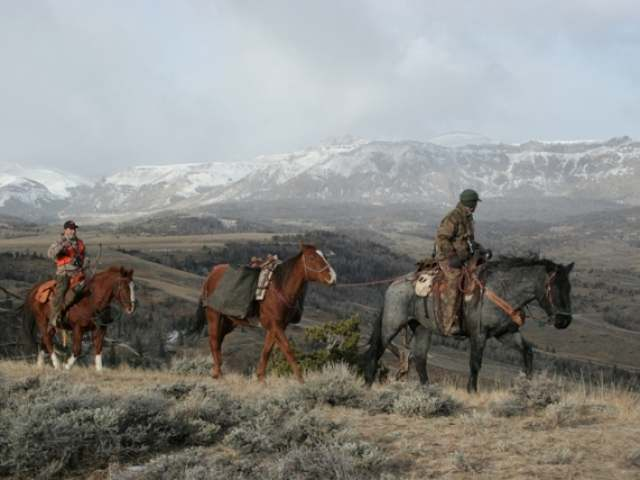 Hunting Wyoming Wilderness Archery Elk-Horseback Hunt - what a great adventure this would be!
