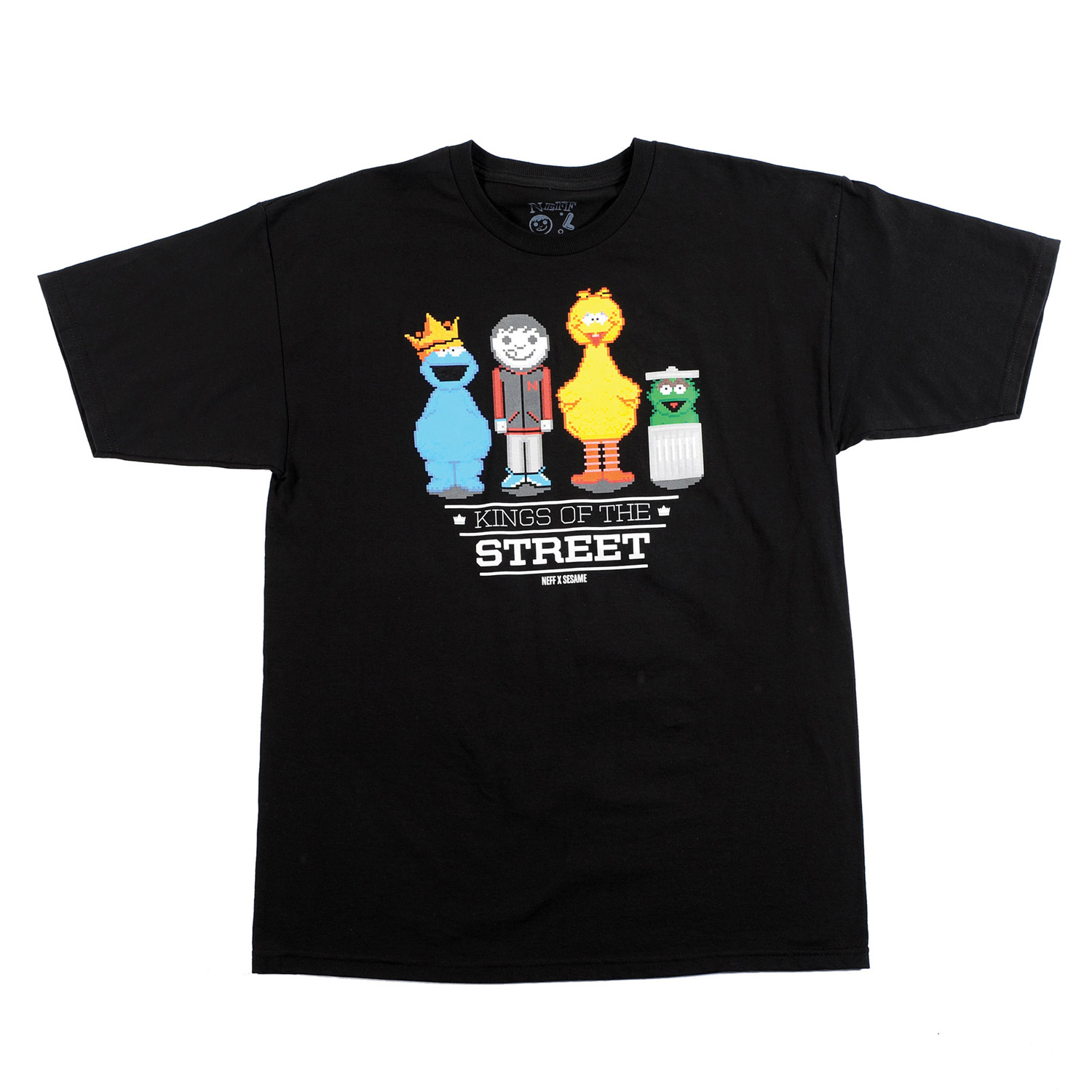 Skateboard Key Features of the Neff Street Kings T-Shirt: 100% Ringspun Cotton - $9.95
