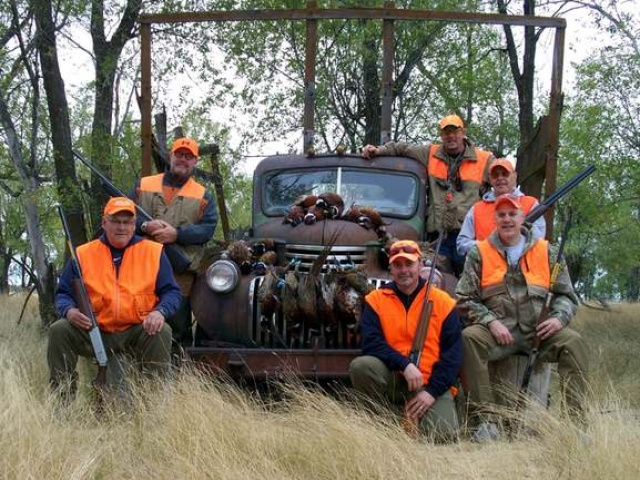 Hunting South Dakota Roosters - host site of annual Governors hunt