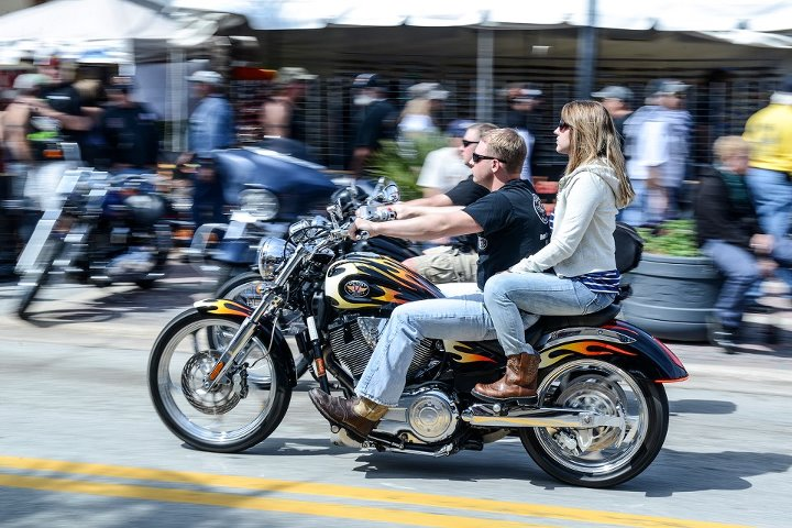 Auto and Cycle Daytona Bike Week is giving us sun and awesome bikes.  Does it get any better?
