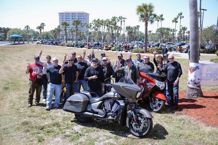 Auto and Cycle Ness Signature Series owners represented themselves proudly with Arlen, Cory and Zach.