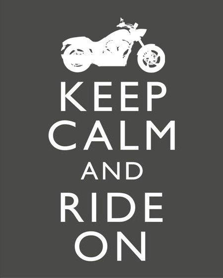 Auto and Cycle Keep Calm and Cruise On