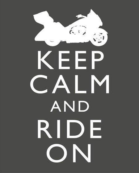 Auto and Cycle Keep Calm and Tour On