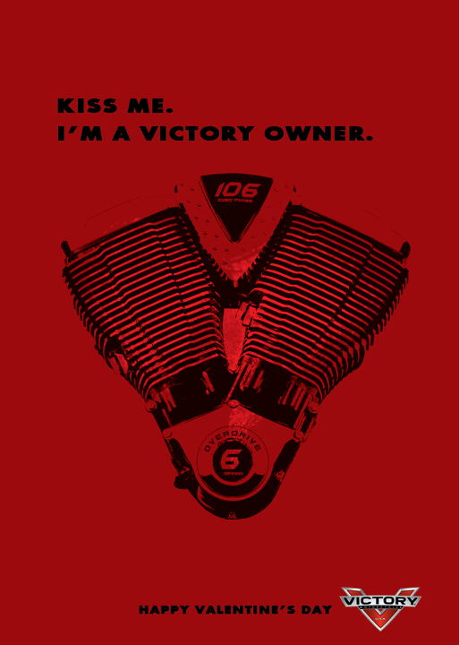 Auto and Cycle Kiss Me, Victory Valentine