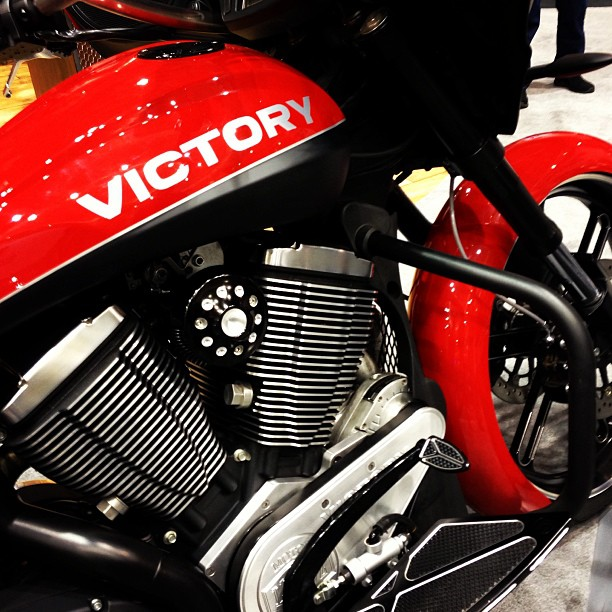 Auto and Cycle Last day of IMS Minneapolis. See us today in MN or next weekend in New York City. #VictoryIMS