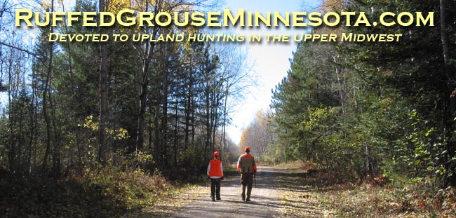 Hunting MN Grouse opener this weekend, i'm heading upnorth w/ the kids and good friends