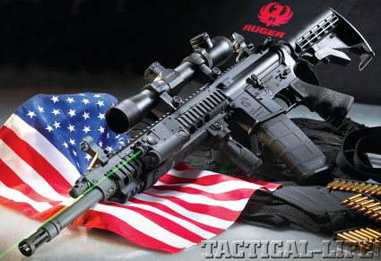 Entertainment ruger SR-556