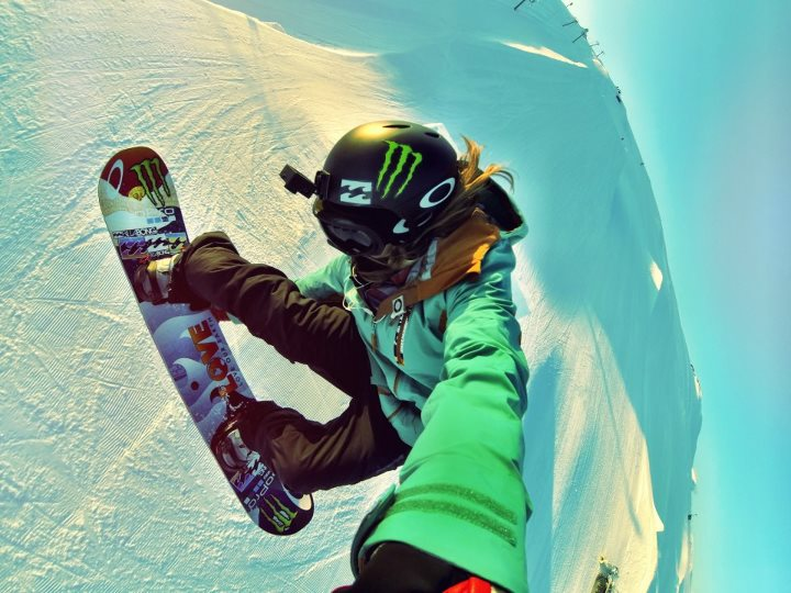 Snowboard monsterenergy