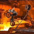 Vasya Lukyanenko's BMX Session in a Steel Mill | Stainless