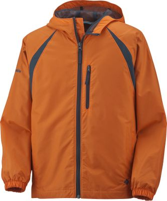 Water-resistant, 100% nylon shell features Wind Halt for wind-resistant comfort. 100% polyester mesh lining offers all-weather protection and ventilation. Full center-zip front. Security pocket. Two zip-close handwarmer pockets. Attached, adjustable storm hood. Imported.Sizes: 8, 10/12, 14/16, 18/20.Colors: Black, Campfire, Compass Blue, Grasshopper. - $24.95