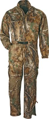 Hunting These lightweight and versatile Scent-Lok coveralls are rugged enough to stand up to intense hunting action while working overtime to keep you comfortable during warm early-season hunts. Single-layer Savanna fabric construction affords super comfort, stealth and scent-adsorbing ability, as well as the convenience of portable packability. Ultralight Savanna EXT is 25% lighter than previous versions and every bit as effective at making you disappear from the eyes and ears of game. The advanced moisture-wicking technology will be your best ally in excessive heat and humidity. There are two slash chest pockets, two waist pockets and two snap cargo pockets. Extra-long zippers on the legs with snaps. An included heavy-duty belt lets you tailor the fit to your needs. Imported.Sizes: M-2XL. Camo patterns: Realtree AP , Scent-Lok Vertigo Tan, Mossy Oak Break-Up Infinity . - $189.99