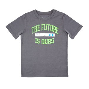 Fitness Glow-In-The-Dark letteringUA Tech(TM) fabric has a more natural feel for unrivaled comfort and performanceSignature Moisture Transport System wicks sweat away from the bodySmooth flatlock seams allow chafe-free motionPolyesterImported - $17.99