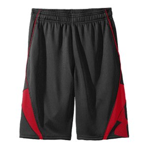 "Sports Plenty of room to move. Mesh panels for the best breathability. A little shine on the court. Simply put, these are your go-to ball shorts. Textured dazzle fabric upper delivers unrivaled comfort and a little shineMesh panels provide strategic ventilation Signature Moisture Transport System wicks sweat away from the bodyExposed elastic waistband with internal drawcordMesh pockets 10"" inseamPolyesterImported - $21.99"
