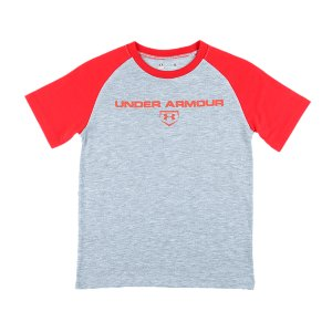 Fitness UA Tech(TM) fabric has a more natural feel for unrivaled comfort and performanceSignature Moisture Transport System wicks sweat away from the bodyRaglan sleeve construction allows for full range of motion without chafingPolyesterImported - $17.99