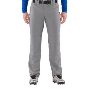 "Sports Lightweight, durable, performance fabric built for gameday comfortMoisture Transport System wicks sweat & dries fastSeven belt loops, brass zipper & double front enclosureErgonomically angled, double welted back pocketsDual-layer knees deliver added durabilityWaistband with internal gripHemmableInseam: 33""PolyesterImported - $23.99"
