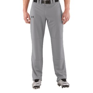 "Sports Lightweight, durable, performance fabric built for gameday comfort.  Moisture Transport System wicks sweat & dries fast.  Seven belt loops, brass zipper & double front enclosure.  Ergonomically angled, double welted back pockets.  Dual-layer knees deliver added durability.  Waistband with internal grip.  Hemmable.  Inseam: 33"".  Polyester.  Imported. - $17.24"