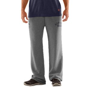 "Fitness We're not telling you to retire your old Auburn sweats, but they better to get used to taking gamedays off. Our new-school Auburn Tigers sweatpants keep that vintage style and old-school, worn-in feel. Then dial up the performance to work as hard as those uniforms you see on the field. UA Storm gear uses a Durable Water Repellent (DWR) finish, which repels water without sacrificing breathabilityLightweight Charged Cotton(R) adds quick-dry performance to the soft comfort of cottonSturdy 300g cotton-blend fleece has a hard-faced outer and a soft, brushed inner to trap warmthSignature Moisture Transport System wicks sweat away from the bodyDurable ribbed waistband with front drawcordWarm hand pockets32"" inseamSoft screen print vintage graphics Raw edging adds an old-school feelCotton/PolyesterImported - $59.99"