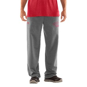 "Fitness We're not telling you to retire your old Red Raiders sweats, but they better get used to taking gamedays off. Our new-school Texas Tech sweatpants keep that vintage style and old-school, worn-in feel. Then dial up the performance to work as hard as those uniforms you see on the field. UA Storm gear uses a Durable Water Repellent (DWR) finish, which repels water without sacrificing breathabilityLightweight Charged Cotton(R) adds quick-dry performance to the soft comfort of cottonSturdy 300g cotton-blend fleece has a hard-faced outer and a soft, brushed inner to trap warmthSignature Moisture Transport System wicks sweat away from the bodyDurable ribbed waistband with front drawcordWarm hand pockets32"" inseamSoft screen print vintage graphics Raw edging adds an old-school feelCotton/PolyesterImported - $59.99"