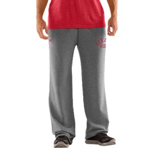 "Fitness We're not telling you to retire your old Utes sweats, but they better get used to taking gamedays off. Our new-school Utah sweatpants keep that vintage style and old-school, worn-in feel. Then dial up the performance to work as hard as those uniforms you see on the field. UA Storm gear uses a Durable Water Repellent (DWR) finish, which repels water without sacrificing breathabilityLightweight Charged Cotton(R) adds quick-dry performance to the soft comfort of cottonSturdy 300g cotton-blend fleece has a hard-faced outer and a soft, brushed inner to trap warmthSignature Moisture Transport System wicks sweat away from the bodyDurable ribbed waistband with front drawcordWarm hand pockets32"" inseamSoft screen print vintage graphics Raw edging adds an old-school feelCotton/PolyesterImported - $59.99"