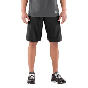 "Sports These UA Baseball shorts are everything you want when you're training: the right weight, the right feel, and they'll last. Lightweight, textured-mesh fabric lets your shorts breathe without losing durabilitySignature Moisture Transport System wicks sweat away from the bodyAnti-odor technology prevents the growth of odor causing microbesIconic UA halfback elastic waistband with internal drawcordMesh hand pocketsChain link printed side panels 11"" inseamPolyesterImported - $20.99"