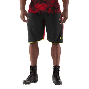 "Fitness For The Most Important Job Interview Of Your Life. This is the authentic technical gear worn by the elite competitors at the NFL Combine. Ultra-light fabrics, ventilation where you need it, and some of the latest UA technologies. Simply put, it's designed so you can cut quicker, jump higher, and shave seconds off your time. Official technical gear worn by NFL Combine competitors Lightweight, durable stretch fabric provides total mobility and superior comfortTextured-mesh side panels and gusset add strategic ventilation Signature Moisture Transport System wicks sweat away from the bodyIconic UA halfback elastic waistband with internal drawcordMesh hand pockets 11"" inseamPolyesterImported - $23.99"