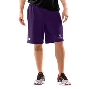 "Fitness Real fans know it's more than a Northwestern logo. It's the teams. The tradtions. And the rivalries. UA was already in college stadiums and on the fields, now we're bringing that same athletic performance to shorts designed for Wildcats fans. Smooth, lightweight fabric is built for superior breathability and movement 4-way stretch construction improves range of motion and dries fasterSignature Moisture Transport System wicks sweat away from the bodyCovered elastic waistband with internal drawcordMesh hand pockets9"" inseamPolyester/Elastane Imported - $34.99"