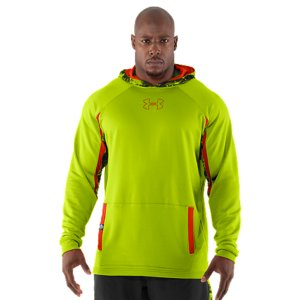 Fitness For The Most Important Job Interview Of Your Life. This is the authentic technical gear worn by the elite competitors at the NFL Combine. Ultra-light fabrics, ventilation where you need it, and some of the latest UA technologies. Simply put, it's designed so you can cut quicker, jump higher, and shave seconds off your time. Official technical gear worn by NFL Combine competitors Lightweight fabric with a smooth exterior and a soft, textured interior to trap the right amount of warmth Mesh hood and underarm panels provide strategic ventilationSignature Moisture Transport System wicks sweat away from the bodyFront hand pocketsPolyesterImported - $44.99