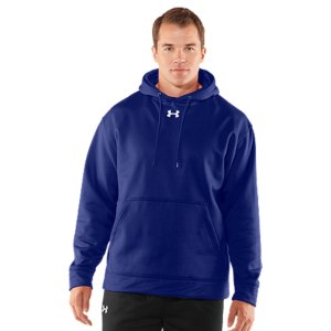 Fitness Armour(R) Fleece is light, breathable & stretches for superior mobility.  Soft inner layer traps heat to keep you warm & comfortable.  Moisture Transport System wicks sweat away from the body.  Front kangaroo pocket.  7.2 oz. Polyester.  Imported. - $49.99