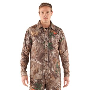 Hunting When you're running and gunning, you need a shirt that's light but can make it through the woods without snagging or ripping. This field shirt also has an easy-access chest pocket for calls or other gear and a loop for your sunglasses. Lightweight rip-stop fabric built to be ultra-durable, able handle heavy punishment Quiet construction prevents fabric from rustling, helping you stay silent and undetectedSignature Moisture Transport System wicks sweat away from the bodyQuick-dry fabrication keeps you light in the fieldSecure side-entry chest pocketSunglasses loopRecycled Polyester/PolyesterImported - $59.99