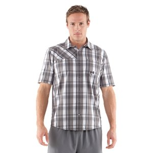 Fitness This may look like your favorite old plaid shirt. It isn't. It's all about performance-the stretch, comfort, and quick-dry construction makes it perfect for nearly any activity. Soft woven fabric matches comfort with durability4-way stretch fabrication allows greater mobility and maintains shapeSignature Moisture Transport System wicks sweat away from the body30+ UPF protects your skin from the sun's harmful raysQuick-dry fabrication keeps you light in the fieldPolyester/ElastaneImported - $44.99