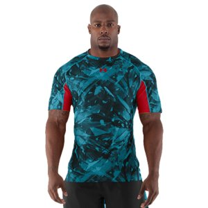 Fitness For The Most Important Job Interview Of Your Life. This is the authentic technical gear worn by the elite competitors at the NFL Combine. Ultra-light fabrics, ventilation where you need it, and some of the latest UA technologies. Simply put, it's designed so you can cut quicker, jump higher, and shave seconds off your time. Official technical gear worn by NFL Combine competitors Smooth HeatGear(R) fabric is lightweight and built to lastStretch-mesh panels provide strategic ventilation 4-way stretch fabrication allows greater mobility and maintains shapeSignature Moisture Transport System wicks sweat away from the body Anti-odor technology prevents the growth of odor causing microbesSmooth, chafe-free flatlock seam constructionPolyester/ElastaneImported - $29.99