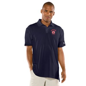 Fitness Real fans know it's more than an Auburn logo. It's the teams. The tradtions. And the rivalries. UA was already in college stadiums and on the fields, now we're bringing that same athletic performance to a polo designed for Tigers fans. Soft, anti-pick, anti-pill fabric for a more comfortable, snag-free finish4-way stretch construction improves range of motion and dries fasterSignature Moisture Transport System wicks sweat away from the bodyAnti-odor technology prevents the growth of odor-causing microbesUPF 30+ protects against the sun's harmful raysRib-knit collar provides durable stretch and a clean, classic lookBody: Polyester/ElastaneCollar: PolyesterImported - $54.99