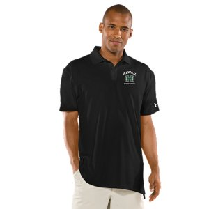 Fitness Real fans know it's more than a Hawaii logo. It's the teams. The tradtions. And the rivalries. UA was already in college stadiums and on the fields, now we're bringing that same athletic performance to a polo designed for Warriors fans. Soft, anti-pick, anti-pill fabric for a more comfortable, snag-free finish4-way stretch construction improves range of motion and dries fasterSignature Moisture Transport System wicks sweat away from the bodyAnti-odor technology prevents the growth of odor-causing microbesUPF 30+ protects against the sun's harmful raysRib-knit collar provides durable stretch and a clean, classic lookBody: Polyester/ElastaneCollar: PolyesterImported - $54.99