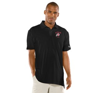 Fitness Real fans know it's more than a Utah logo. It's the teams. The tradtions. And the rivalries. UA was already in college stadiums and on the fields, now we're bringing that same athletic performance to a polo designed for Utes fans. Soft, anti-pick, anti-pill fabric for a more comfortable, snag-free finish4-way stretch construction improves range of motion and dries fasterSignature Moisture Transport System wicks sweat away from the bodyAnti-odor technology prevents the growth of odor-causing microbesUPF 30+ protects against the sun's harmful raysRib-knit collar provides durable stretch and a clean, classic lookBody: Polyester/ElastaneCollar: PolyesterImported - $54.99