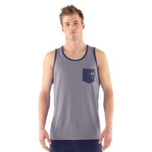 Fitness This isn't your typical tank. And not just for the rad pocket. It's built from UA Tech(TM) fabric to give you quick-dry comfort all day. Lightweight UA Tech(TM) fabric with an ultra-soft, natural feel for unrivaled comfortSignature Moisture Transport System wicks sweat away from the bodyAnti-odor technology prevents the growth of odor causing microbesSmooth flatlock seams allow chafe-free motionPolyesterImported - $20.99