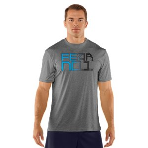 Fitness Designed with the help of the most electrifying, dynamic QB playing today: Cam Newton. Every C1N graphic T uses our Charged Cotton(R) fabric to dry faster than regular cotton. Charged Cotton(R) has the comfort of cotton, but dries much fasterSignature Moisture Transport System wicks sweat away from the bodyAnti-Odor technology prevents the growth of odor causing microbesDurable ribbed collar provides a comfortable fitThe C1N logo tells you that this product is part of the exclusive UA Cam Newton CollectionCotton/PolyesterImported - $24.99