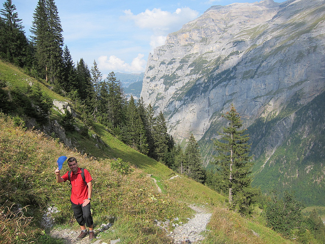 Camp and Hike Tip of the hat in the Swiss Apls