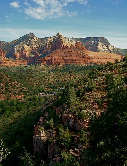 Camp and Hike from Huckably trail, Red Rocks, Sedona AZ