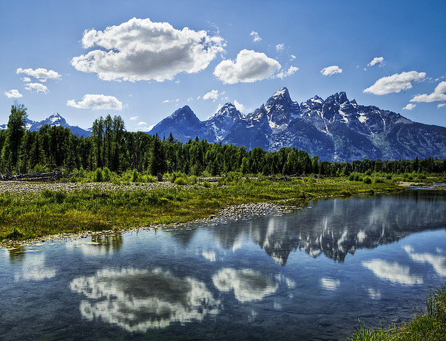 Camp and Hike The Grand Tetons